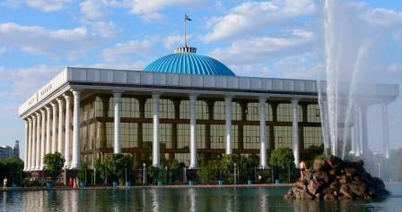 Parlamento - Oliy Majlis di Tashkent