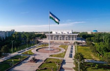 Piazza AMICIZIA DEI POPOLI a Tashkent