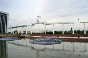 Piazza dell'Indipendenza a Tashkent