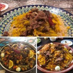Cucina uzbeka durante viaggi in Uzbekistan