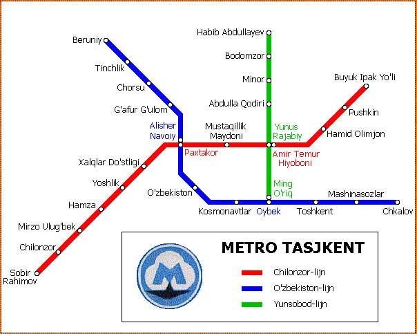Metropoletana di Tashkent