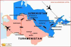 Viaggio in Uzbekistan e Turkmenistan