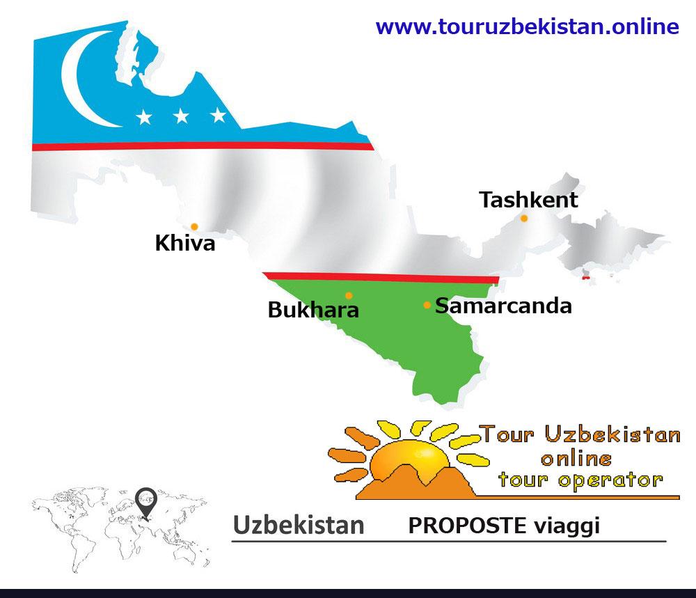 Uzbekistan proposte per viaggi