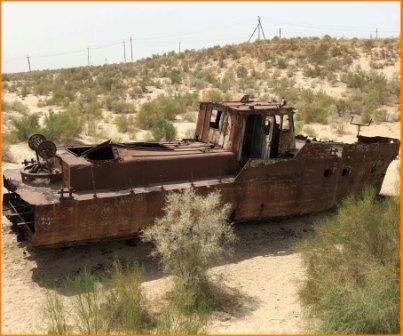 Viaggi in Uzbekistan Lago Aral