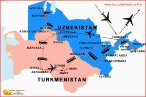 Viaggio in Turkmenistan
