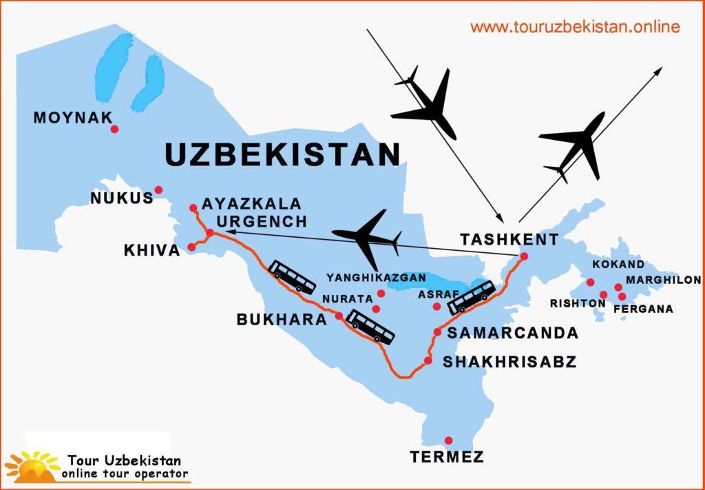 Viaggio in Uzbekistan 11 giorni