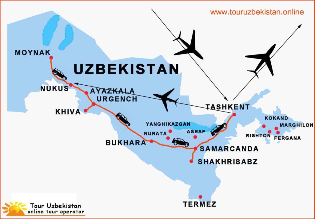 Viaggio in Uzbekistan 13 giorni