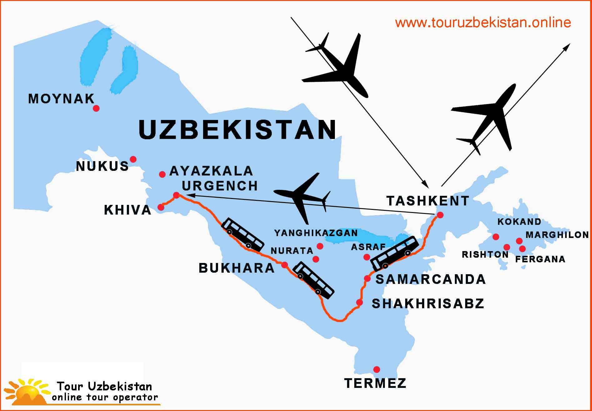 Viaggio in Uzbekistan 8 giorni
