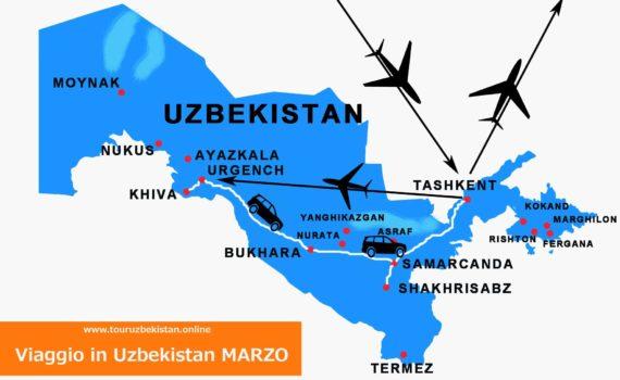 Viaggio in Uzbekistan MARZO