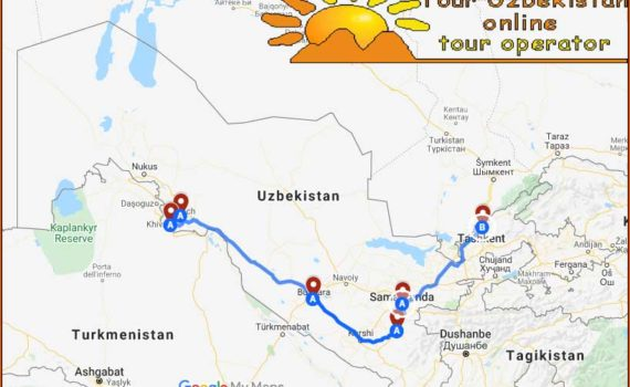 TOUR CLASSICO IN UZBEKISTAN