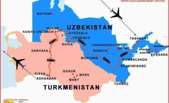 Viaggio Uzbekistan e Turkmenistan