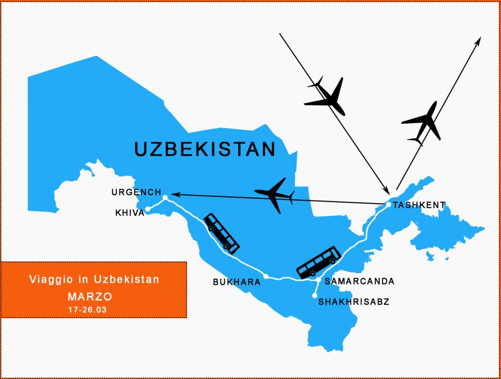Viaggio in Uzbekistan MARZO 17-26.03