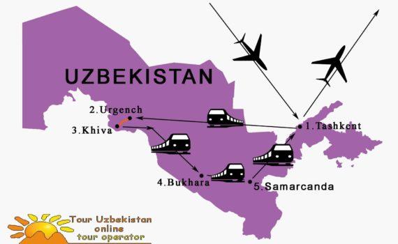 Viaggio in Uzbekistan con treni locali