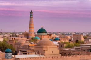 Minareto e Madrassa Islam Khodja
