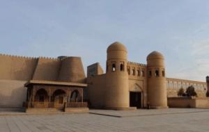Porte d'ingresso ICHANKALA a Khiva